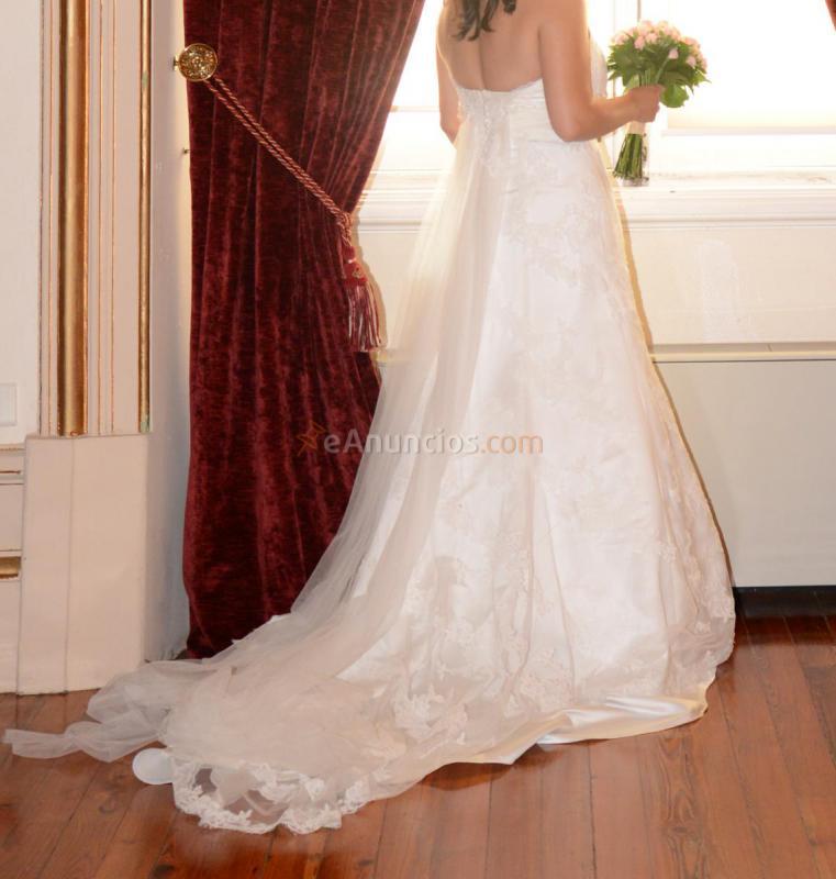 vestido de novia talla 46