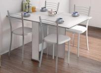 mesa de cocina y dos taburetes. comprar mesa auxiliar cocina granito ...