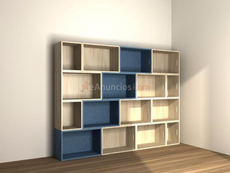 Estanterias modulares en madera maciza 575145 - Estanterias modulares madera ...