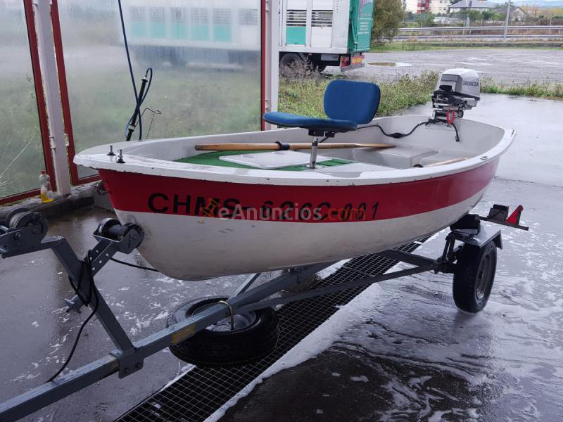 Barca motor y remolque (992645) - eAnuncios.com