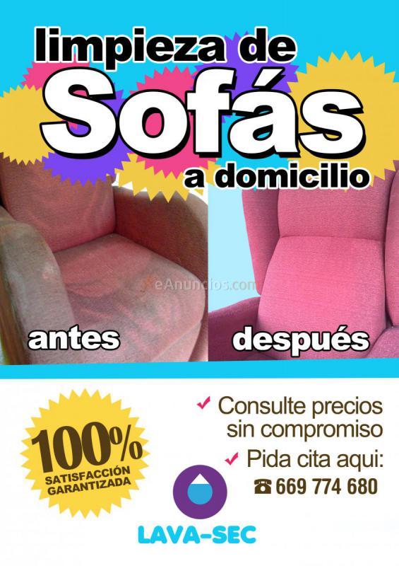 limpieza de sofas a domicilio 1154467