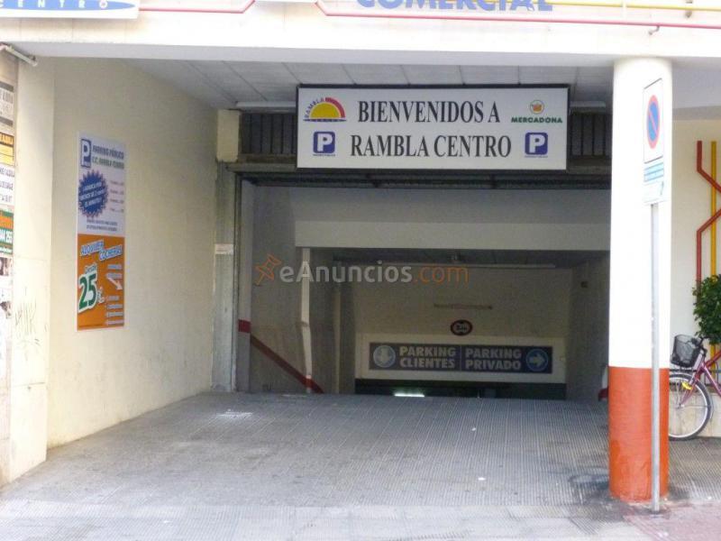 Plaza de garaje en primer sotano de rambla 1528279 for Contrato plaza garaje