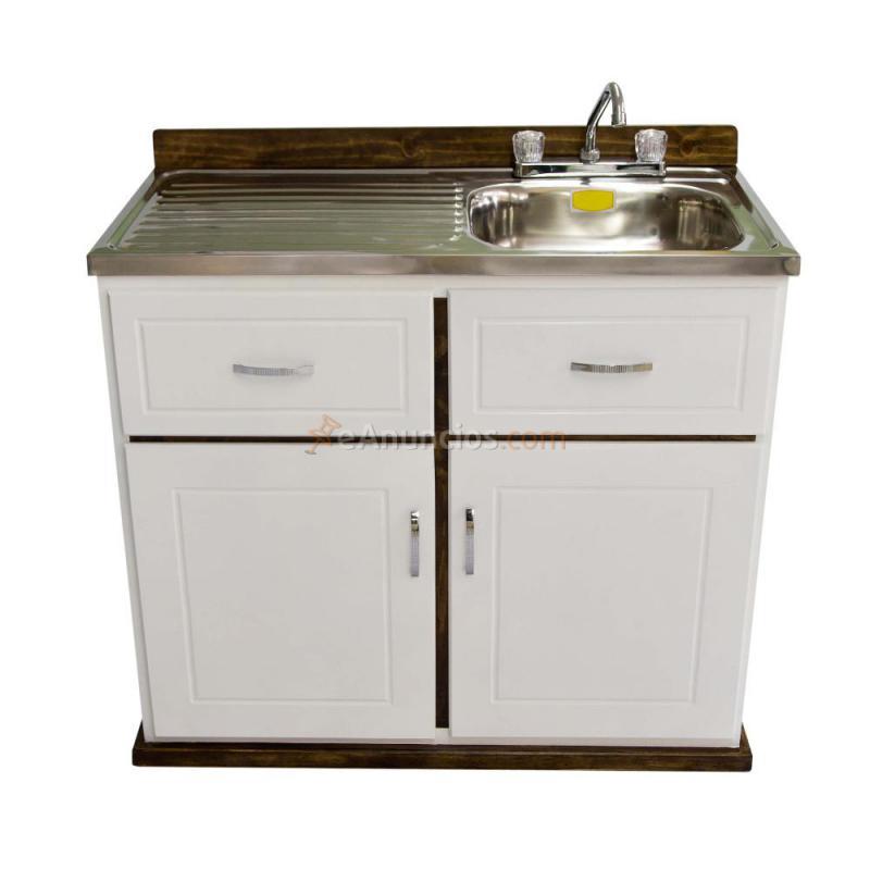 Muebles de cocina fregadero acero 1549992 for Fregadero resina
